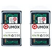 QUMOX 4GB(2x 2GB) DDR2 667MHz PC2-5300 PC2-5400 DDR2 667 (200 PIN) SODIMM Notebook Memoria