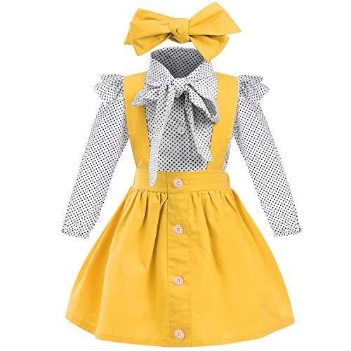 Baby T-Shirt Strap Dress 2Pcs/Se...