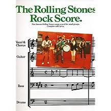The Rolling Stones: Rock Score (Album): Songbook für #F# BandEns (Rock-Band)