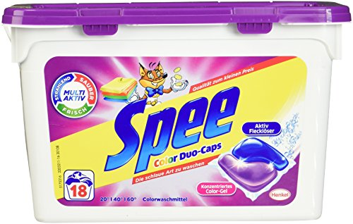 Spee Color Duo-Caps, 4er Pack (4 x 450 g)
