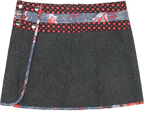 Moshiki Wickelrock Hot Cookie M Wool Short L903