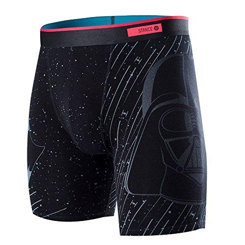 Stance Men's Star Wars Darth Vader UW Boxer Brief Underwear Black Black