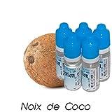 MA POTION - Lot de 5 E-Liquide Fruit Noix de coco, Eliquide Français Ma Potion, recharge cigarette électronique. Sans nicotine ni tabac