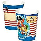 Spiegelburg 13252 Partybecher Capt'n Sharky (8 St.)