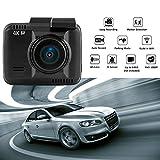 4K Entschließung-SuperHD Auto-DVR 2160P Videorekorder GPS Logger Novatek 96660 Kamerarecorder Nachtsicht Kamera Dashcam 1080P