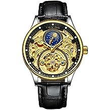e052cfe84d5 Baoblaze 1 Unid de Reloj de Pulsera Mecánico Accesorio de Deportes para  Oficina de Alecion Duradero