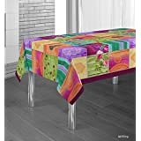 Manteles Springie estampados antimanchas Colores Primaverales Decoracion Hogar (300 x 150 cm)