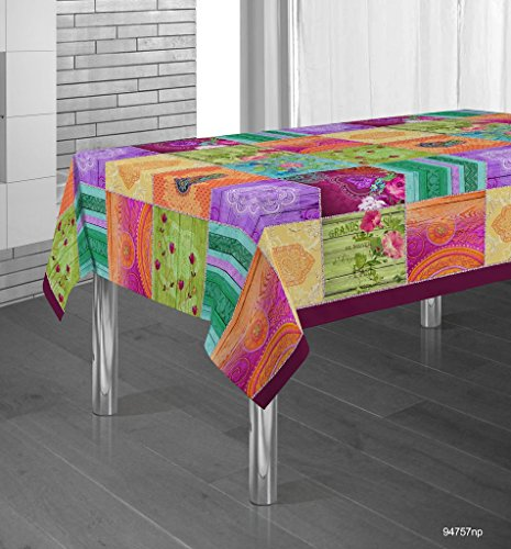 Manteles Springie estampados antimanchas Colores Primaverales Decoracion Hogar (200 x 150 cm)