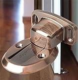 Cale türhalter, astucieux avec fenêtre modèle discret et plat! à anstoßgefahr grâce à la jack windsituationen, pour la porte n'est plus zuschlägt. couleur bronze, bronz nikkel