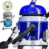Kesser® Staubsauger 2200W ✓ Mit Wasserfilter ✓ für Allergiker geeignet | Mehrzwecksauger zum Trocken-Saugen & Nass-Saugen | Beutellos | Staubsauger beutellos mit Wasserfilter, Farbe: Blau