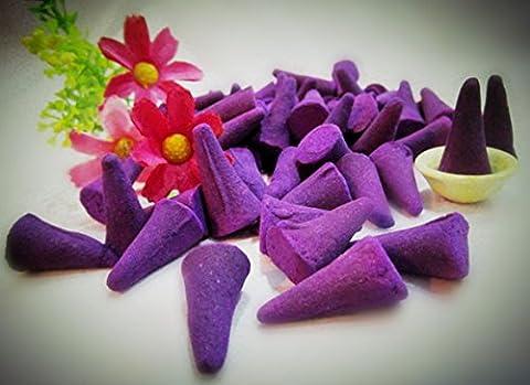50 Coloured Incense Cone - Lavender