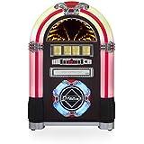 Ricatech 656033 - Jukebox de mesa, color madera