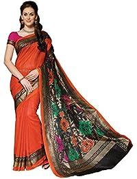 Bhavi Saree Tassar Silk Saree (Bhvp13333_Orange)