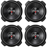 """4 New Kenwood KFC-W3016PS 12"""" 1600W RMS Car Audio Subwoofers Subs Woofers 4 Ohm"""