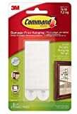 Command Large Picture Hanging Strips, 4 pairs (2)