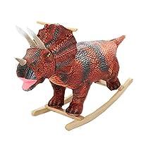 YUMEIGE Rocking Horses Rocking Horse Realistic Dinosaur,Boy