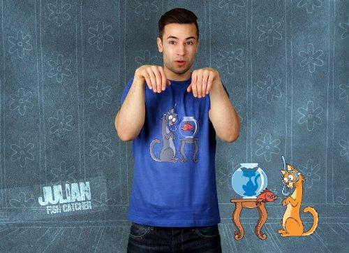 Das Leiden des jungen Katers - Herren T-Shirt von Kater Likoli Royal Blue