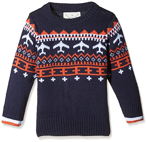 Nauti Nati Baby Boys' Sweater (NAW15-484_Blue_9-12 months)