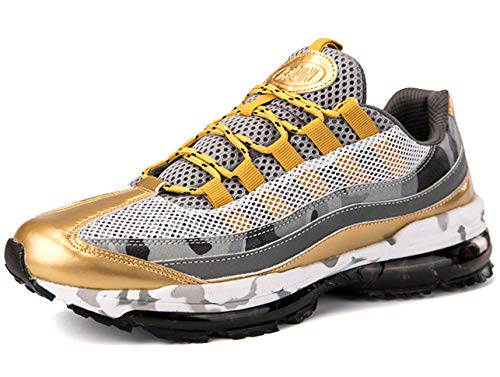 GJRRX Uomo Scarpe da Ginnastica Air Running Sneakers Sportive Shoes Casual