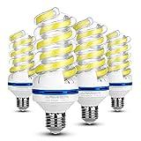 LED Lampe E27, 20W ersetzt 150W LED Birne, Tageslicht Kaltweiß 6000K, 1700 Lumen, LED-Leuchtmittel 20 watts, 360 Grad Abstrahlwinkel, Nicht Dimmbar Energiesparlampe,LED Birnen E27, 4 - Pack