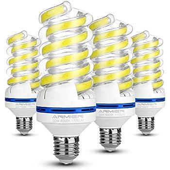 Bombilla LED E27 20W (Equivalente a 150 vatios), Blanca Fria 6000K, No