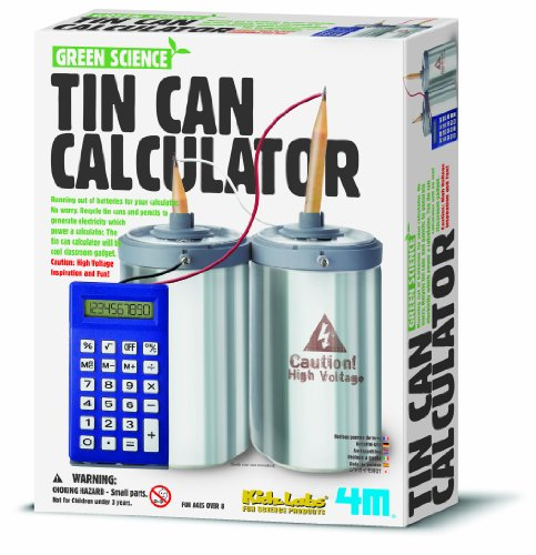 4M - Tin Can Calculator, juguete educativo (004M3360)