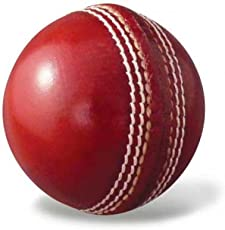 Fabulous 4 Piece Leather Cricket Ball Red (80+ Over)