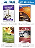 Company / Corporate Law And Economic Law / Allied Law Books   CA Final Paper 4 May 2020 Exam   Handwritten Content Notes for Old and New Syllabus   Subjectives and MCQs Question Bank   Set of 4 Volumes by CA Arpita S Tulsyan