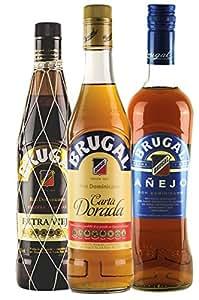 """Brugal Rum Mischpaket """"Geniesser"""" 3 x 0,7 l"""