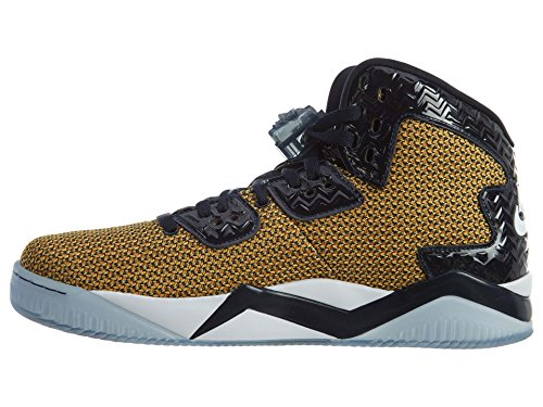 Nike Air Jordan Spike Forty, Chaussures de Sport Homme, Taille Doré / Blanc / Bleu (Gold Leaf / White-Midnight Navy)