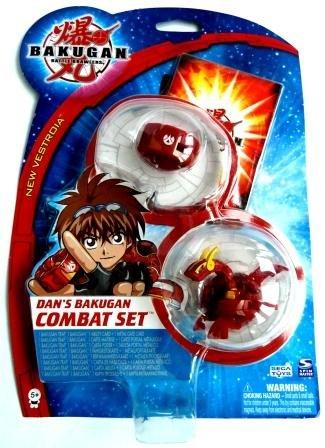 Upper Deck Bakugan: Baku Dan's Combat Set 1 x Bakugan, 1 x Bakugan Trap, 1 x Metall-Portalkarte, 1 x Fähigkeitskarte