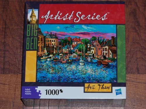avi-thaw-artist-series-big-ben-1000-piece-jigsaw-puzzle-by-hasbro