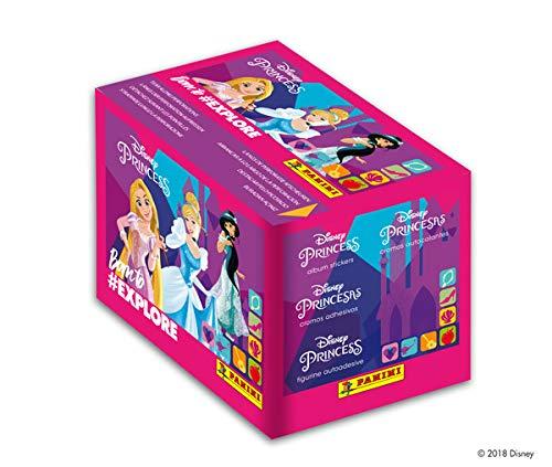 Panini Princesses-Sois Une Héroïne, Boîte de 50 Pochettes, 2417-004