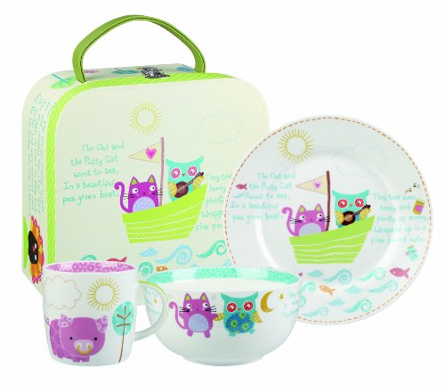 Price comparison product image Little Rhymes - Owl And The Pussycat - Breakfast Set