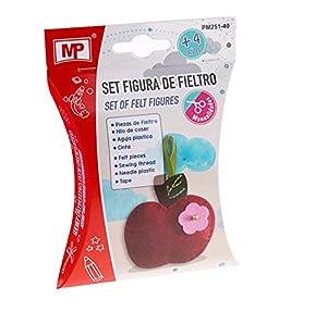 MP- Set Figura de Fieltro Manzana (PM251-40)