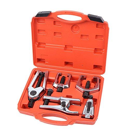 SHIOUCY 5 TLG Tragegelenk Kugelgelenk Spurstangenkopf Abzieher Ausdrücker Werkzeugesatz Satz Für Alle Auto PKW-Bereich
