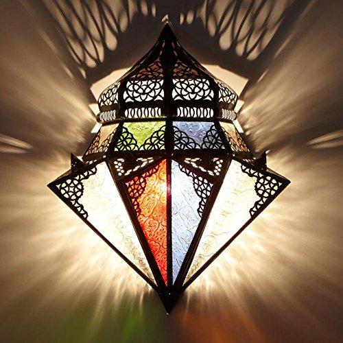 Marroquí Lámpara de pared Jawhar | L1420