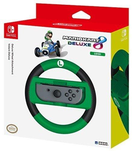 Hori Volante Deluxe Mario Kart 8 (Versione Luigi) - Ufficiale Nintendo - - Nintendo Switch