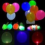 Toy - LED Leuchtende Luftballons Blinkendes Licht 32 Stück - Gemischte Farbe für Weihnachten / Geburtstag / Hochzeitsfest