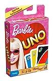 Mattel T8236 - UNO Barbie, Kartenspiel