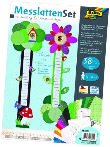 Preisvergleich Produktbild Folia 971 - Messlatten Set Baum oder Blume