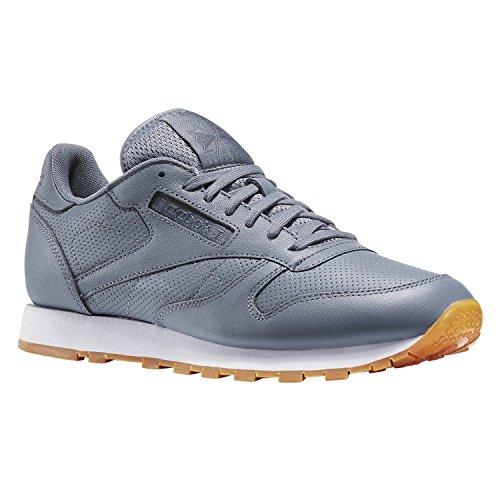 Reebok Classic Leather PG Snekaer Herren Schuhe grau ASTEROID DUST /WHITE