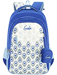 Genie 36 Ltrs Blue Casual Backpack (Glam)