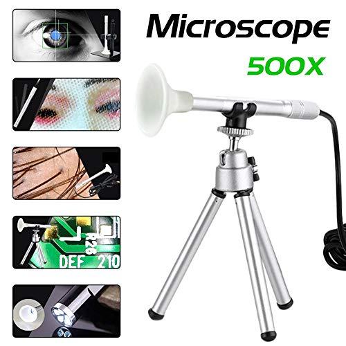 Dequate 500X Microscopio USB Zoom Digital Micro USB