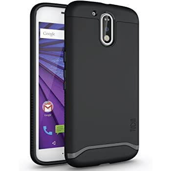 TUDIA MERGE Case for Motorola Moto G4 / G4 Plus (Moto G/G PLUS 4th Gen) - Matte Black