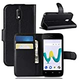 LZS Case for Wiko Sunny 3 Mini Leather Wallet Flip Cover