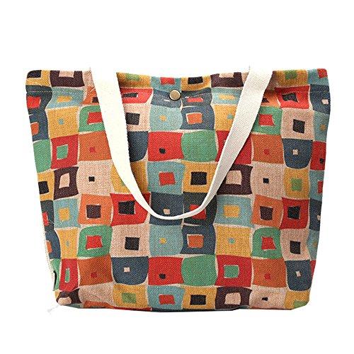 Wewod Fashion tela borsa ambientale protezione Lattice