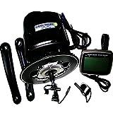 TSDZ2Mid Ebike Kit di conversione motore centrale, Sensore di coppia 36 V 350 W 42 denti, per Bicicletta elettrica con catena