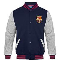 FC Barcelona - Chaqueta deportiva oficial para niño - Estilo béisbol  americano 83f19474c7e