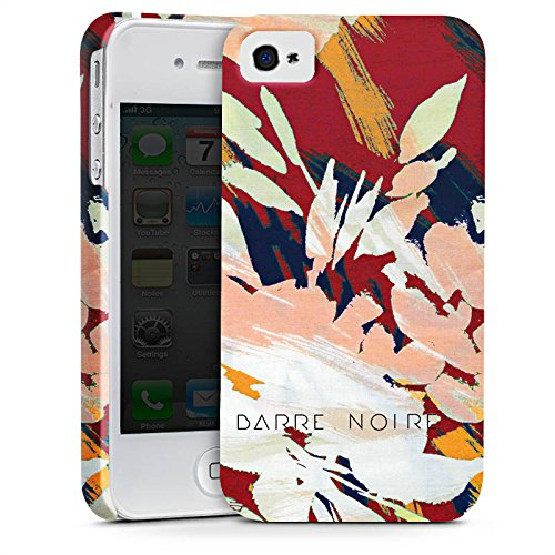 Apple iPhone X Silikon Hülle Case Schutzhülle Blumen Muster Blume Premium Case glänzend